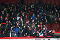Stevenage fans during Stevenage vs Luton Town, Sky Bet EFL League 2 Football at the Lamex Stadium on 10th February 2018