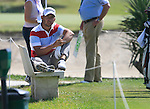 Pablo Larrazabal (ESP) relaxes on the 17th tee during Day 3 Saturday of the Open de Andalucia de Golf at Parador Golf Club Malaga 26th March 2011. (Photo Eoin Clarke/Golffile 2011)