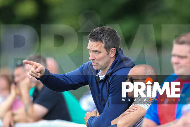 Paul Sculthorpe MBE looks on as London Broncos U19s host Wigan Warriors ahead of the Kingstone Press Championship match between London Broncos and Featherstone Rovers at Castle Bar , West Ealing , England  on 25 June 2017. Photo by David Horn.
