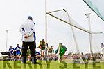 Saint Brendan's score their only goal against Kilmoyley in the County Senior Hurling Final at Abbeydorney on Sunday.