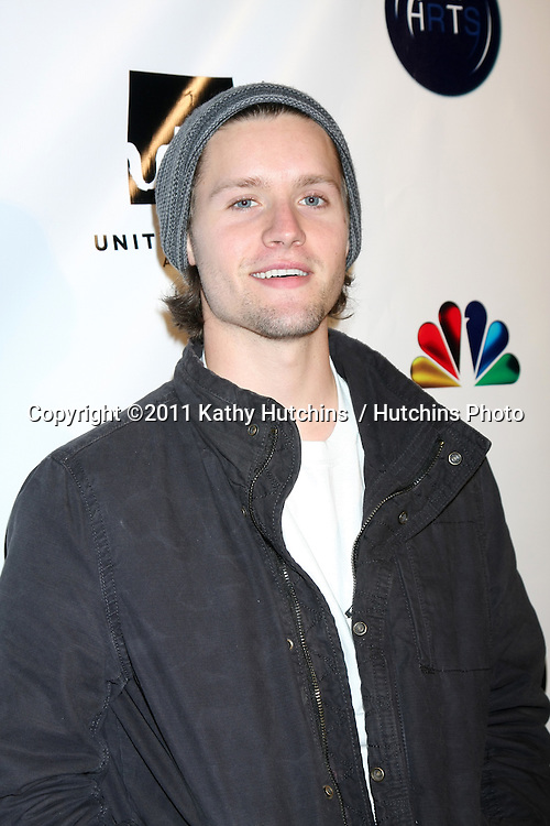 LOS ANGELES - DEC 7:  Luke Kleintank arrives at the JHRT's 9th Young Hollywood Holiday Party at Eden on December 7, 2011 in Los Angeles, CA