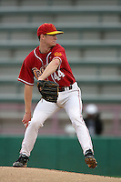 March 7 2010: Kevin Couture of USC during game against University of New Mexico at Dedeaux Field in Los Angeles,CA.  Photo by Larry Goren/Four Seam Images