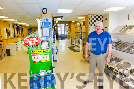 Patrick Griffin from Iveragh Tiles & Plumbing Cahersiveen.