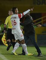 Cortulua v Deportivo Pereira. Cuadrangulares Ascenso Liga Aguila 2015. 18-01-2015