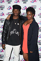 Clara Amfo<br /> arriving for the NME Awards 2018 at the Brixton Academy, London<br /> <br /> <br /> ©Ash Knotek  D3376  14/02/2018