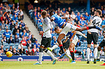 28.07.2019 Rangers v Derby County: Nikola Katic stoops to head the only goal of the game