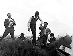 Beatles 1967 Paul McCartney films Magical Mystery Tour on Devon moors. <br />