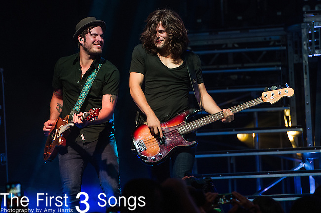 Reid Perry of The Band Perry performs on Day One of the 2014 CMA Music Festival in Nashville, Tennessee.