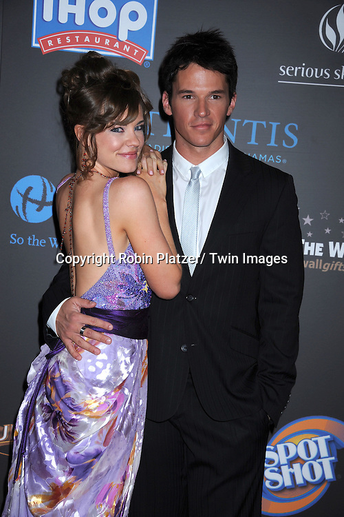 Molly Burnett and Mark Hapka  arriving at the 38th Annual Daytime Emmy Awards  on June 19, 2011 at The Las Vegas Hilton in Las Vegas Nevada. ..