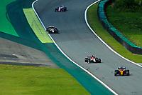 17th November 2019; Autodromo Jose Carlos Pace, Sao Paulo, Brazil; Formula One Brazil Grand Prix, Race Day; Carlos Sainz Jr (ESP) Mclaren F1 Team MCL34 - Editorial Use