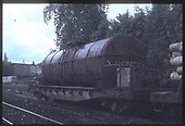 Tank car #X908228.  &quot;Oil Tanker&quot;.<br />   Taken by Berkstresser, George - 6/22/1984