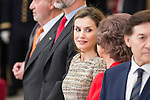 Queen Letizia and Queen Sofia attends to the National Sports Awards 2015 at El Pardo Palace in Madrid, Spain. January 23, 2017. (ALTERPHOTOS/BorjaB.Hojas)