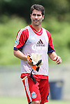 04 June 2012: Juan Pablo Angel (COL). Chivas USA held a training session on Field 6 at WakeMed Soccer Park in Cary, NC the day before playing in a 2012 Lamar Hunt U.S. Open Cup fourth round game.