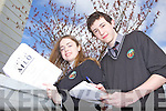 Students Jane D'Altuin and Liam O'Faoláin from Gaelcolaiste Chiarrai, Tralee were amongst the top 100 decipherers in the All Ireland Linguistics Olympiad Finals recently. .