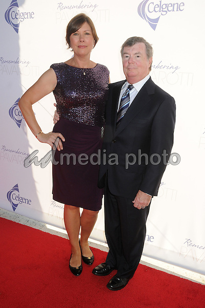 25 September 2015 - Los Angeles, California - Martina Lewis, Dan Lewis. Remembering Pavarotti Benefit Concert and Gala held at The Music Center. Photo Credit: Byron Purvis/AdMedia