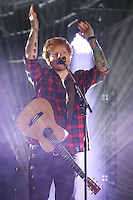 CARSON, CA, USA - MAY 10: Ed Sheeran performs at 102.7 KIIS FM's 2014 Wango Tango at StubHub Center on May 10, 2014 in Carson, California, United States. (Photo by Xavier Collin/Celebrity Monitor)