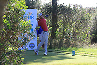 Matthew Jordan (ENG) on the 15th tee during Round 3 of the Challenge Tour Grand Final 2019 at Club de Golf Alcanada, Port d'Alcúdia, Mallorca, Spain on Saturday 9th November 2019.<br /> Picture:  Thos Caffrey / Golffile<br /> <br /> All photo usage must carry mandatory copyright credit (© Golffile | Thos Caffrey)