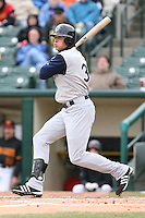 April 15th, 2007:  Ryan Sweeney of the Charlotte Knights, Class-AAA affiliate of the Chicago White Sox, during a game at Frontier Field in Rochester, NY.  Photo by:  Mike Janes/Four Seam Images