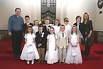 First Holy Communion in Walshestown...Photo NEWSFILE/Jenny Matthews.(Photo credit should read Jenny Matthews/NEWSFILE)....This Picture has been sent you under the condtions enclosed by:.Newsfile Ltd..The Studio,.Millmount Abbey,.Drogheda,.Co Meath..Ireland..Tel: +353(0)41-9871240.Fax: +353(0)41-9871260.GSM: +353(0)86-2500958.email: pictures@newsfile.ie.www.newsfile.ie.FTP: 193.120.102.198.