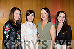 Support<br /> -----------<br /> Having fun at the Rags to Runway charity fashion show last Saturday night in the Ballyroe heights hotel, Tralee were Killarney ladies L-R Aisling Crowley, Catherine Somers, Sarah Doherty and Paula McSweeney.