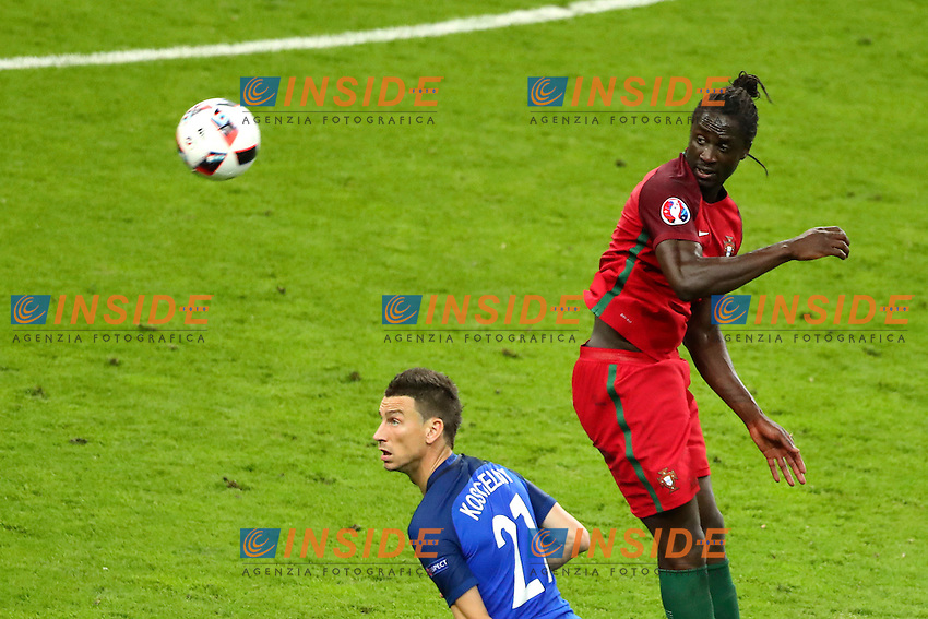 Laurent Koscielny (France)  Eder (Portugal)<br /> Paris 10-07-2016 Stade de France Football Euro2016 Portugal - France / Portogallo - Francia Finale/Finals<br /> Foto Gwendoline Le Goff / Panoramic / Insidefoto