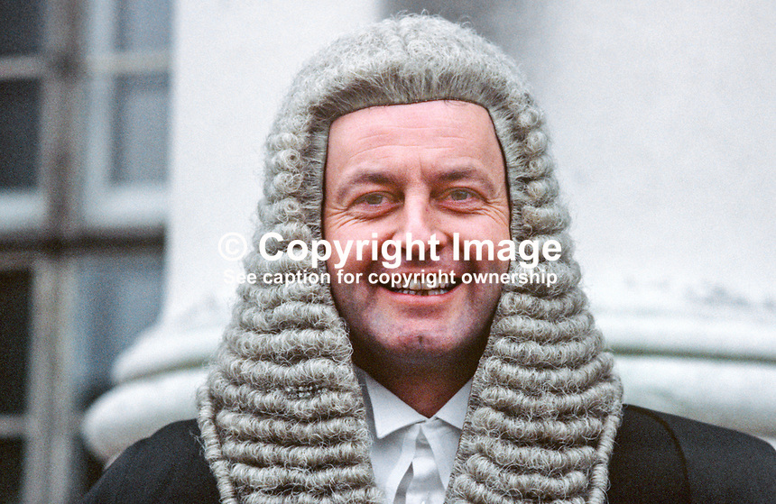 Kenneth McMahon, QC, barrister, N Ireland, UK, 19850003KMM.<br />