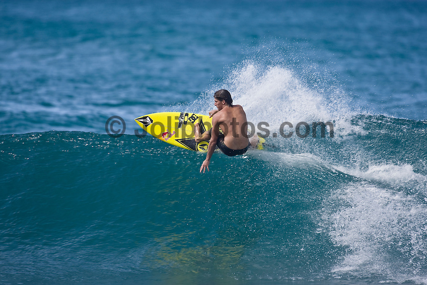 BRUCE IRONS (HAW) surfing at Off The Wall-Backdoor, North Shore of Oahu, Hawaii. Photo: joliphotos.com