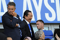 Cardiff City chairman Vincent Tan in good sprits prior to kick off <br /> <br /> Photographer Ian Cook/CameraSport<br /> <br /> The EFL Sky Bet Championship - Cardiff City v Reading - Sunday 6th May 2018 - Cardiff City Stadium - Cardiff<br /> <br /> World Copyright &copy; 2018 CameraSport. All rights reserved. 43 Linden Ave. Countesthorpe. Leicester. England. LE8 5PG - Tel: +44 (0) 116 277 4147 - admin@camerasport.com - www.camerasport.com