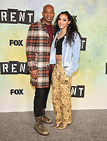 "LOS ANGELES - JANUARY 8: Brandon Victor Dixon and Tinashe attend a press junket for FOX's ""RENT"" on the Fox Studio Lot on January 8, 2019 in Los Angeles, California. (Photo by Frank Micelotta/Fox/PictureGroup)"