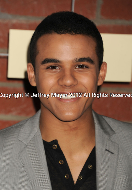 =Culver City=, CA - SEPTEMBER 10: Jacob Artist arrives at the FOX Fall Eco-Casino Party at The Bookbindery on September 10, 2012 in Culver City, California.