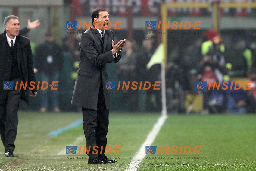 "Massimiliano Allegri Milan.Milano 25/11/2012 Stadio ""San Siro"".Football Calcio Serie A 2012/13.Milan v Juventus.Foto Insidefoto Paolo Nucci."