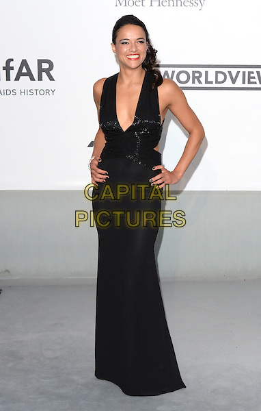 CAP D'ANTIBES, FRANCE - MAY 22: Michelle Rodriguez attends amfAR's 21st Cinema Against AIDS Gala, Presented By WORLDVIEW, BOLD FILMS, And BVLGARI at the 67th Annual Cannes Film Festival on May 22, 2014 in Cap d'Antibes, France. <br /> CAP/CAS<br /> &copy;Bob Cass/Capital Pictures