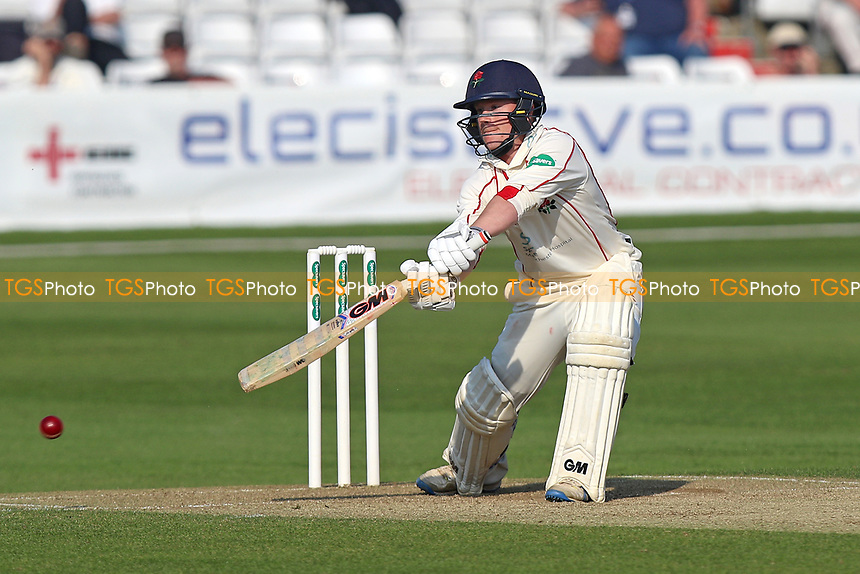Alex Davies in batting action for Lancashire during Essex CCC vs Lancashire CCC, Specsavers County Championship Division 1 Cricket at The Cloudfm County Ground on 8th April 2017