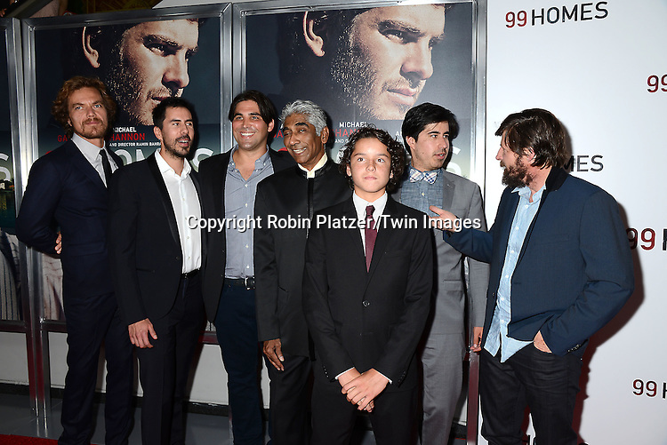 Cast and producers attends the New York Premiere of &quot;99 Homes&quot; on September 17, 2015 at AMC Loews Lincoln Square in New York City, New York, USA.<br /> <br /> photo by Robin Platzer/Twin Images<br />  <br /> phone number 212-935-0770