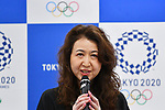 Yasuko Anbiru, <br /> MAY 22, 2017 : The Tokyo Organising Committee of the Olympic and Paralympic Games announce the application requirements of the convention mascot in Tokyo, Japan. (Photo by AFLO)