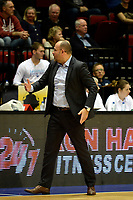 GRONINGEN -  Basketbal, Donar - New Heroes Den Bosch, Martiniplaza, Dutch Basketbal League, seizoen 2018-2019,  26-01-2019, Den Bosch coach Ivica Skelin