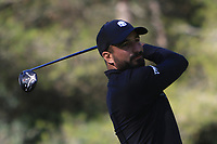 Francesco Laporta (ITA) on the 5th tee during Round 3 of the Challenge Tour Grand Final 2019 at Club de Golf Alcanada, Port d'Alcúdia, Mallorca, Spain on Saturday 9th November 2019.<br /> Picture:  Thos Caffrey / Golffile<br /> <br /> All photo usage must carry mandatory copyright credit (© Golffile | Thos Caffrey)