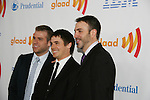 One Life To Live's Scott Evans - Brett Claywell - Ron Carlivati (head writer) win at the 21st Annual GLAAD Media Awards on March 13, 2010 at the New York Marriott Marquis, New York City, NY. (Photo by Sue Coflin/Max Photos)