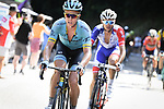 Michael Valgren (Den) Astana Pro Team part of the breakaway group during Stage 15 of the 2018 Tour de France running 218km from Carcassonne to Bagneres-de-Luchon, France. 24th July 2018. <br /> Picture: ASO/Pauline Ballet | Cyclefile<br /> All photos usage must carry mandatory copyright credit (© Cyclefile | ASO/Pauline Ballet)