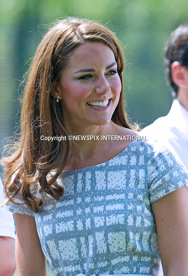 """CATHERINE, DUCHESS OF CAMBRIDGE.attends the sports-themed event, to launch the Coach Core programme, a partnership between their Foundation and Greenhouse at Bacon's College, South London_26/07/2012.Mandatory credit photo: ©Dias/NEWSPIX INTERNATIONAL..(Failure to credit will incur a surcharge of 100% of reproduction fees)..                **ALL FEES PAYABLE TO: """"NEWSPIX INTERNATIONAL""""**..IMMEDIATE CONFIRMATION OF USAGE REQUIRED:.Newspix International, 31 Chinnery Hill, Bishop's Stortford, ENGLAND CM23 3PS.Tel:+441279 324672  ; Fax: +441279656877.Mobile:  07775681153.e-mail: info@newspixinternational.co.uk"""