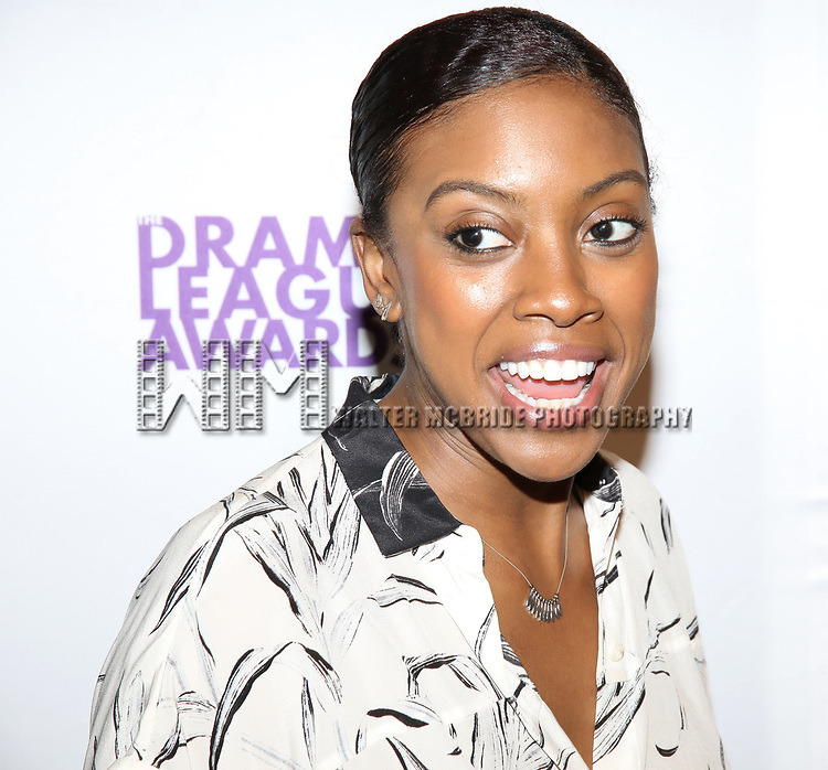 Condola Rashad attends the 83rd Annual Drama League Awards Ceremony  at Marriott Marquis Times Square on May 19, 2017 in New York City.