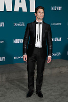 "LOS ANGELES - NOV 5:  Matthew MacCaull at the ""Midway"" Premiere at the Village Theater on November 5, 2019 in Westwood, CA"