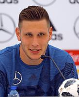 Niklas Süle (Deutschland Germany) - 29.05.2018: Pressekonferenz der Deutschen Nationalmannschaft zur WM-Vorbereitung in der Sportzone Rungg in Eppan/Südtirol