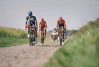 the leading group with <br /> <br /> Antwerp Port Epic 2018 (formerly &quot;Schaal Sels&quot;)<br /> One Day Race:  Antwerp &gt; Antwerp (207 km; of which 32km are cobbles &amp; 30km is gravel/off-road!)