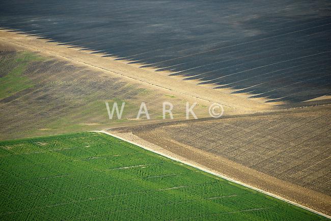 Farm fields near Eads, Colorado.  April 2013   84845