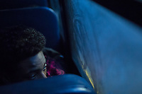 A middle school student peers out the window of a school bus on the way to school 7:00 AM in Raleigh, NC on Friday, March 31, 2017. (Justin Cook for The Wall Street Journal)<br /> <br /> BUSES Summary<br /> A shortage of school bus drivers is forcing one of North Carolina&rsquo;s largest school districts to consider starting class as early as 7:10 a.m. and as late as 9:15 a.m. this fall, to give the limited number of drivers time to do three or more runs each morning.