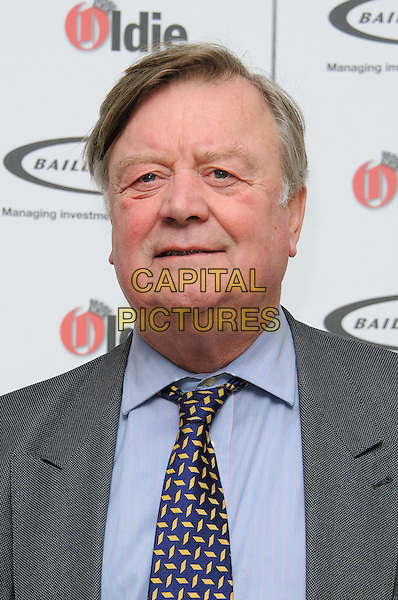Ken Clarke.The Oldie Of The Year Awards 2012 at Simpsons On The Strand, London, England..7th February 2012.headshot portrait black blue shirt grey gray tie yellow print  .CAP/CJ.©Chris Joseph/Capital Pictures.