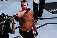 SÃO PAULO,SP, 08.11.2015 - UFC-SP -  Vitor Belfort (vermelho) Vs Dan Henderson (azul) durante UFC Fight Night São Paulo no Ginásio do Ibirapuera na região sul da cidade de São Paulo na madrugada deste domingo 08. (Foto: Vanessa Carvalho/Brazil Photo Press)