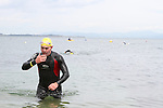"""Harry Flemming at the Clogherhead """"Round the Head Swim"""".....(Photo credit should read Jenny Matthews/NEWSFILE)..."""