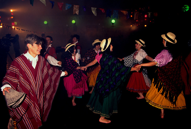 Festival, Quito, Pichincha Province, Ecuador, South America